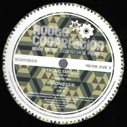 Ranking Joe - Strong Survive / Jah B - Strong Dub / Shinehead - Behold / Dub (Roots Co-Operation) 12